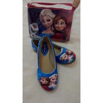12 Pares Sapatilha Frozen Elsa Infantil + Bolsa