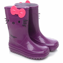 Bota Galocha Infantil Hello Kitty - Grendene