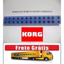 Borracha / Peças Korg Pa-50/pa-50 Sd Etc... Nova Original
