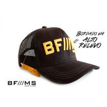 Bone Bf/ms Bfms Bf Bf///ms Preto Dourado Cinch Tiao John Jao