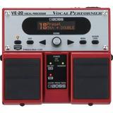 Processador Vocal Roland Boss Ve-20 C/ Nfe E Garantia