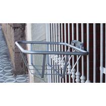 Lixeira Articulada Para Calçada (grade Ou Muro)