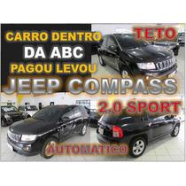 Jeep Compass 2.0 Sport Ano 2013 Financiamento Facil