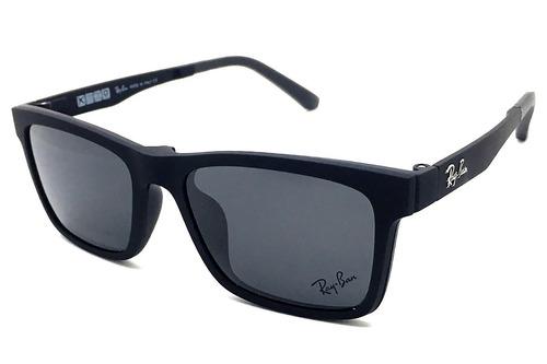 cca387e9a9c22 Armação Óculos Rb2075 Clipon 2 Em 1 Grau E Sol. Preço  R  102 85 Veja  MercadoLibre