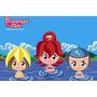 Painel Decorativo Festa Infantil Princesas Do Mar (mod4)