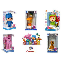 Kit Turma Do Pocoyo 100% Vinil Atoxico 5 Bonecos - Originais