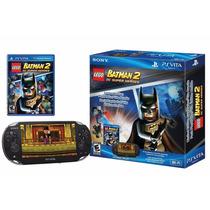 Ps Vita Com Lego Batman 2: Dc Super Heroes 4g W-fi Psvita