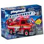 Playmobil Caminhão De Bombeiro Com Escada Cod: 5980