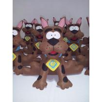 Scooby Doo Feltro Enfeite De Mesa
