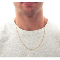 e294c930440 Corrente De Ouro 18k Malha Grumet Masculina Grumet 70cm à venda em ...