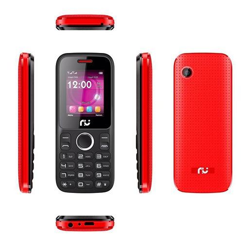 Celular Riu 1, Desbloqueado Vermelho E Preto, 2 Chips, Radio