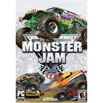 Game - Pc Dvd Monster Jam - Original Lacrado
