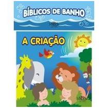 Livro Infantil Bíblico De Banho - A Criação