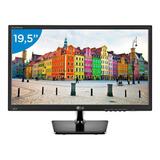 Monitor Led Lg Com Tela 19,5 Polegadas - Lg 20m37aa