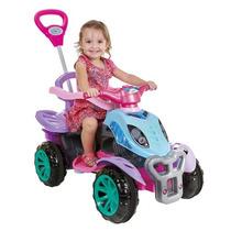 Carrinho De Passeio Infantil Pedal E Empurrador Top Modelos
