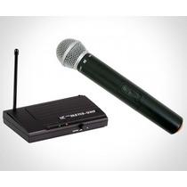 Microfone S/fio Tsi Ms115-uhf C/maleta