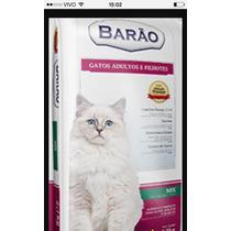 Ração Barão Gatos Adultos E Gatos Filhotes Mix 25kg