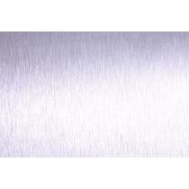 Adesivo Vinil Aço Escovado Branco Decorativo 1,00m X 1,00m