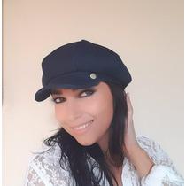 Boina Jeans Feminina Boina Estilo Francesa+frete Gratis