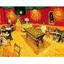 Quadro Mesa Sinuca Bar Restaurante Reprodução Van Gogh