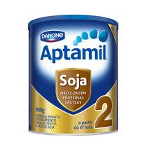 Leite Aptamil Soja 2 Com 800 Gramas