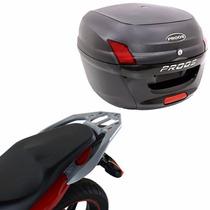 Suporte Bagageiro Scam + Bau Bauleto Proos 34l Honda Cb300r