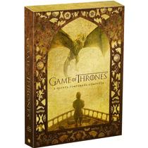 Box Game Of Thrones 5ª Temporada Original/lacrada 5 Dvd's