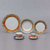 Jogo Jantar De Porcelana 42 Peças Baeza Wolff R 17187