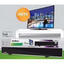 Antena Tv Digital 28db Amplificada Hdtv Vhf Uhf Interna +nf