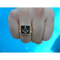 c8cc088379bc40 Anéis Folheado a Ouro Anel da Maçonaria com os melhores preços do ...