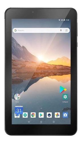 Tablet Multilaser M7s Plus 7  16gb Preto Com Memória Ram 1gb