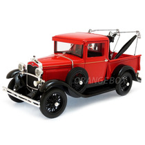 Ford Model A 1931 Tow Truck 1:18 Signature 18116-vermelho