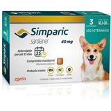 Combo Simparic 40 Mg 10 A 20 Kg 3 Comprimidos