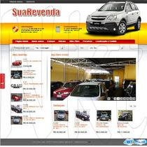 Site Script Auto Revenda Veículos Automóveis Agência Carro