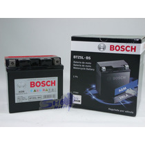 Bateria De Moto Bosch Em Gel Honda Nxr Bros Mix 2010 À 2013