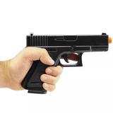 Pistola Airsoft Glock G15 Full Metal 6mm - Spring