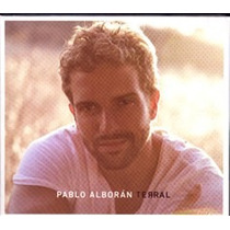 Pablo Alboran Terral Edicion Especial Novo Lacrado Cd + Dvd