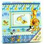 Álbum Fotográfico Bebê 100 Fotos 10x15cm Porta Cd - Ab066az