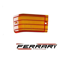 Lente Lanterna Traseira Fiat 147 79/8 Amarelo