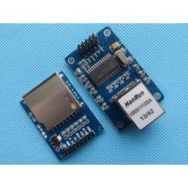 Kit Módulo Ethernet Enc28j60 + Módulo Sd Card Arduino Pic