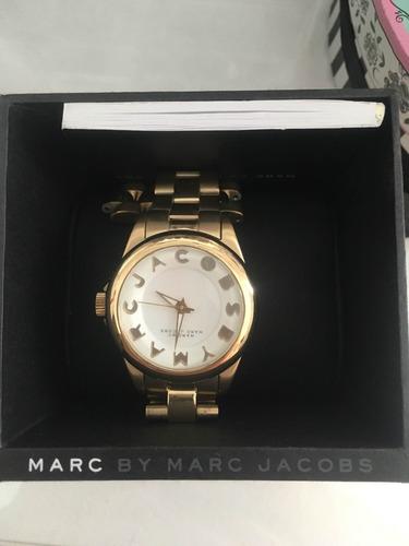 Relogio Marc Jacobs Dourado. R  999 441666d924