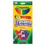 Crayola Lápis De Cor Apagável - Caixa 24 Cores -eua-original