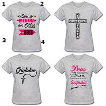 fa832f09e Busca camisetas evangelicas com os melhores preços do Brasil ...