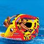 Poparazzi 3p Bóia Banana Boat Inflável Rebocavel Jet Lancha