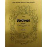 Partitura Beethoven Orchestra No.4 Em Sol Maior Violoncelo