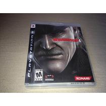 Metal Gear Solid 4 Guns Of The Patriots Tactical Espionage
