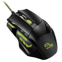 Mouse Gamer Multilaser Mo208 Xgamer, Fire Button, 2400 Dpi,