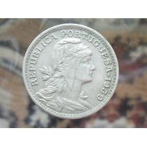 Colecionismo - Antiga Moeda De Portugal 50 Centavos 1959