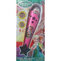 Microfone Infantil Frozen Musical