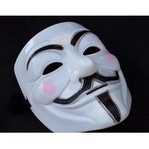 Fantasia Máscara V De Vingança Anonymous Kit C 10 Un Atacado